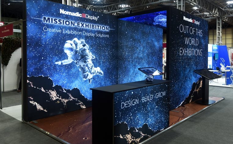 Nomadic Display LED Backlit Exhibition Stands
